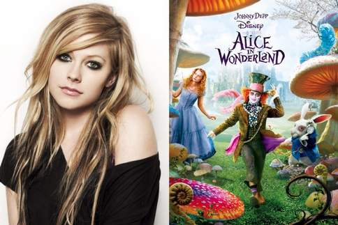 I found myself in Wonderland  Get back on my feet again  Is this real?  Is this pretended?  I'll Avril Lavigne - Alice in Wonderland