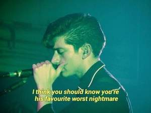D Is For Dangerous Arctic Monkeys