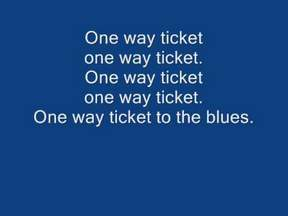 One way ticket Boney M