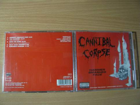 Hammer Smashed Face Cannibal Corpse