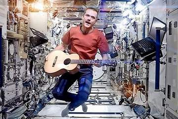 Space Oddity Chris Hadfield