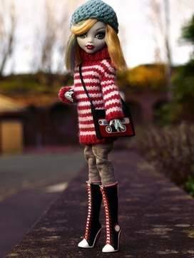 Одежда для кукол монстер хай своими руками зимняя