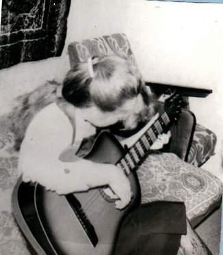 Изгиб гитары минус