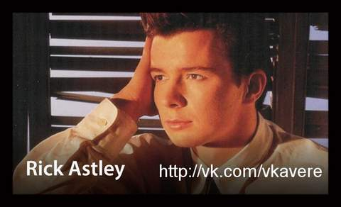 Never Gonna Give You Up| |Rick Astley