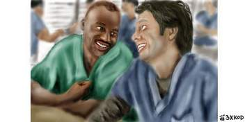 Chocolate and Vanilla Bears [Scrubs]