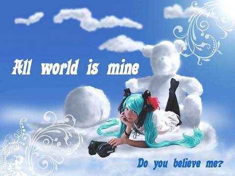 World Is Mine (Vocaloid) Hatsune Miku